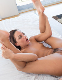 Amara got word from her BF that he is gonna be out of town for a few days. Their roommate is being obnoxious with his music and she decides to let him fuck her in the ass because her BF is a nerd.